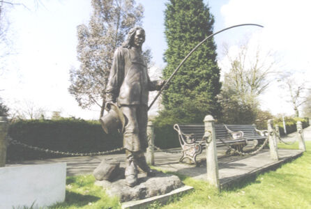 PETER WALKER SCULPTOR- Sir Izaak Walton