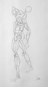 Peter Walker Sculptor - Figure Study