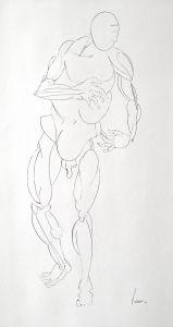 Peter Walker Sculptor - Figure Study A