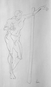 Peter Walker Sculptor Figure From Sculpture