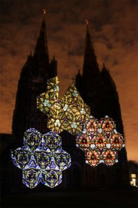 Lichfield Cathedral In Lights