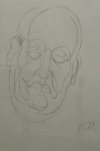 Peter Walker Sculptor - Portrait A12