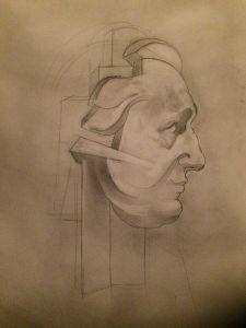 Peter Walker Sculptor - Study For Garrick Sculpture