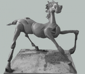 Peter Walker Sculptor History Of The Horse