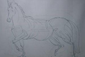 Peter Walker Sculptor Inside The Horse