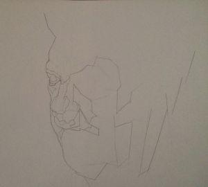 Peter Walker Sculptor Study B