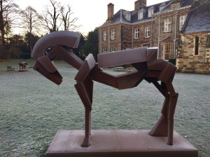 Constructing the Horse at Lichfield Cathedral School
